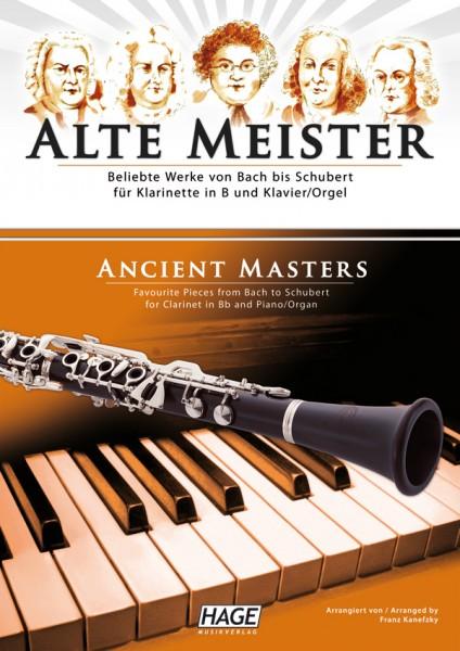 Alte Meister für Klarinette in B und Klavier/Orgel