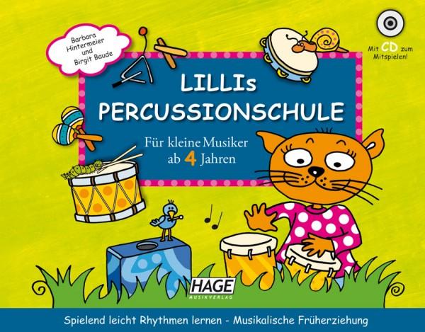 Lillis Percussion Schule (mit CD)