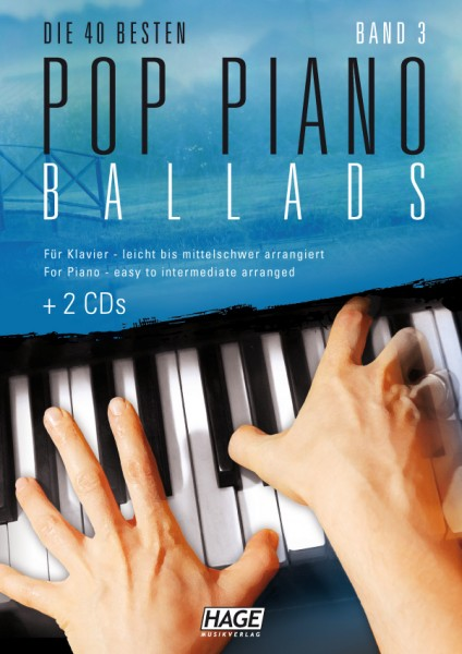 Pop Piano Ballads 3 (mit 2 CDs)