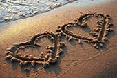 Das Herz im Sand - Calimeros