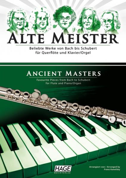 Alte Meister für Querflöte und Klavier/Orgel