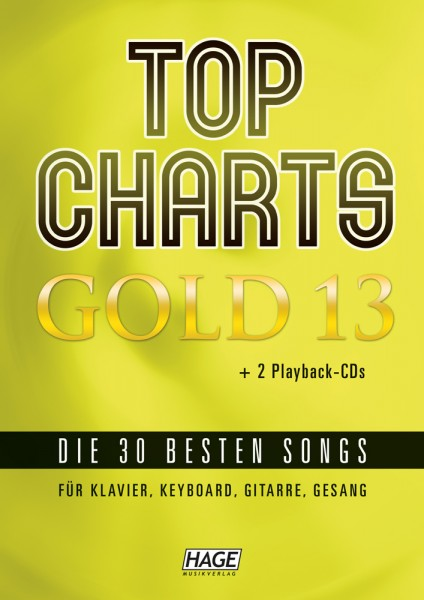 Top Charts Gold 13 (mit 2 CDs)