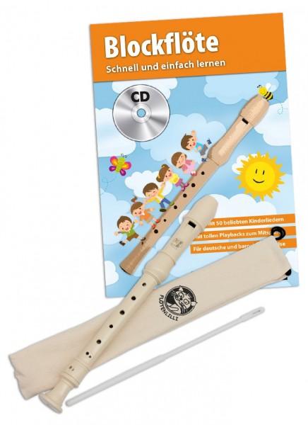 Blockflöten Set - Deutsche Griffweise