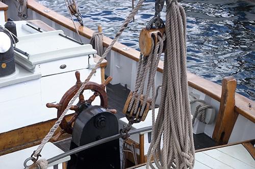 Weißes Boot - Inka Bause