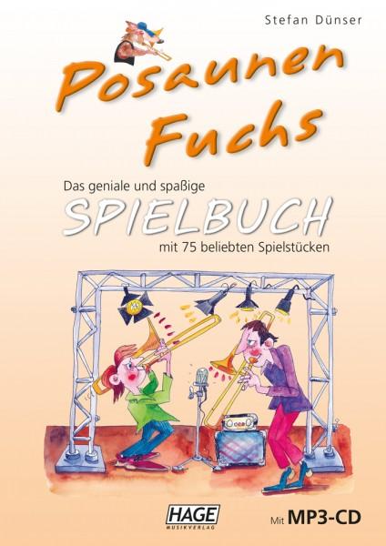 Posaunen Fuchs Spielbuch (mit MP3-CD)