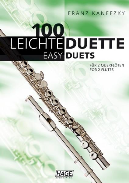 100 Leichte Duette für 2 Querflöten