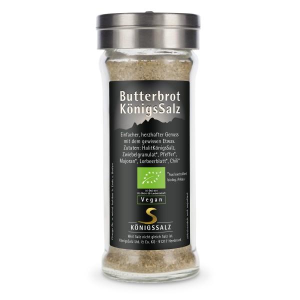 ButterbrotKönigsSalz im Glasstreuer 80g