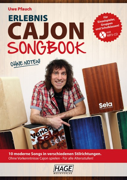 Erlebnis Cajon Songbook (mit MP3-CD)