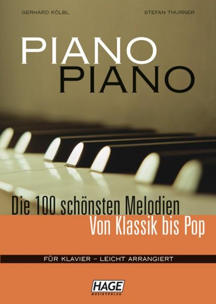 Piano Piano 1 leicht (mit Midifiles, USB-Stick)
