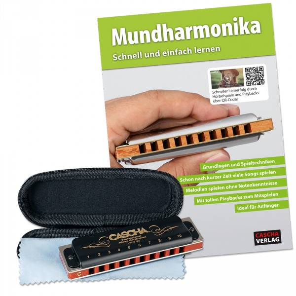 Professional Blues Mundharmonika Set