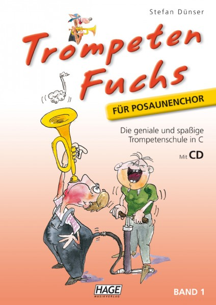Trompeten Fuchs Band 1 in C für Posaunenchor (mit CD)