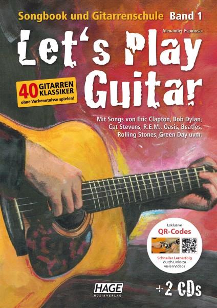 Let's Play Guitar Band 1 (mit 2 CDs und QR-Codes)