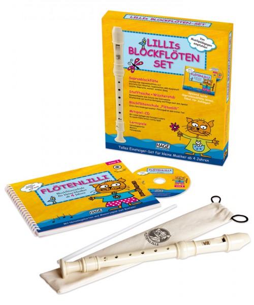 Lillis Blockflöten Set - Barocke Griffweise