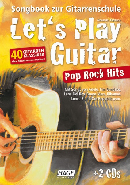 Let's Play Guitar Pop Rock Hits (mit 2 CDs)
