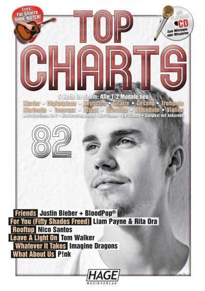 Top Charts 82 (mit CD + Midifiles, USB-Stick)