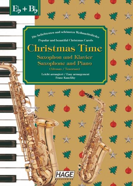 Christmas Time für Saxophon und Klavier