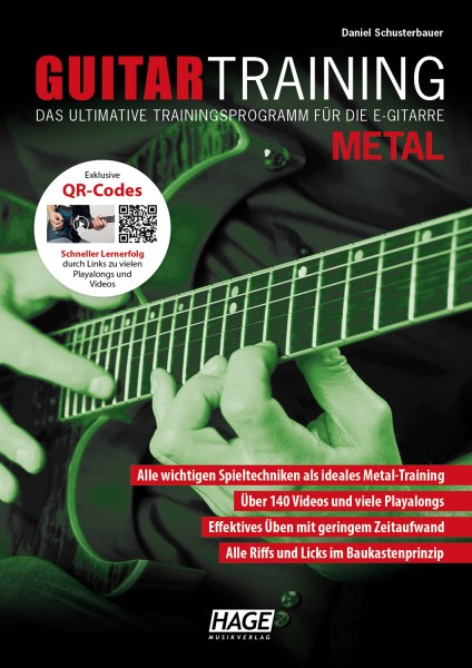Guitar Training Metal (mit QR-Codes)