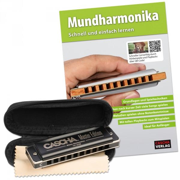 Master Edition Blues Mundharmonika Set