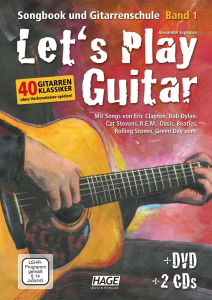 Let's Play Guitar Band 1 (mit 2 CDs und DVD)