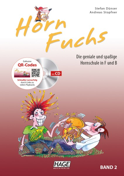 Horn Fuchs Band 2 (mit CD)
