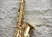 Lachendes Saxophon - Pete Tex