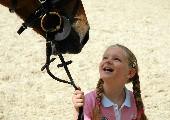 Es hängt ein Pferdehalfter an der Wand - Ronny