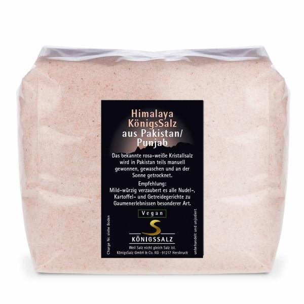 HimalayaKönigsSalz gemahlen aus Pakistan/Punjab Tüte 1kg