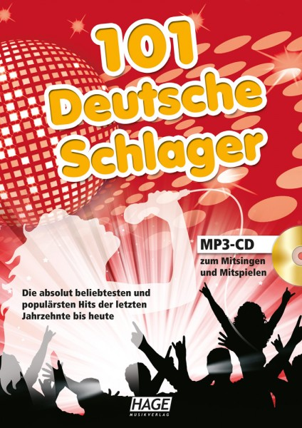 101 Deutsche Schlager (mit MP3-CD)