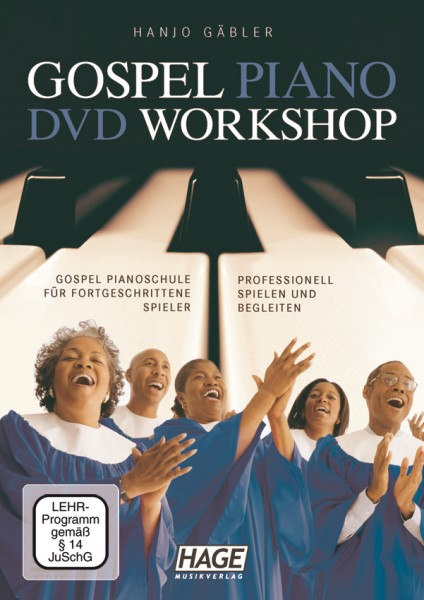 Gospel Piano DVD Workshop