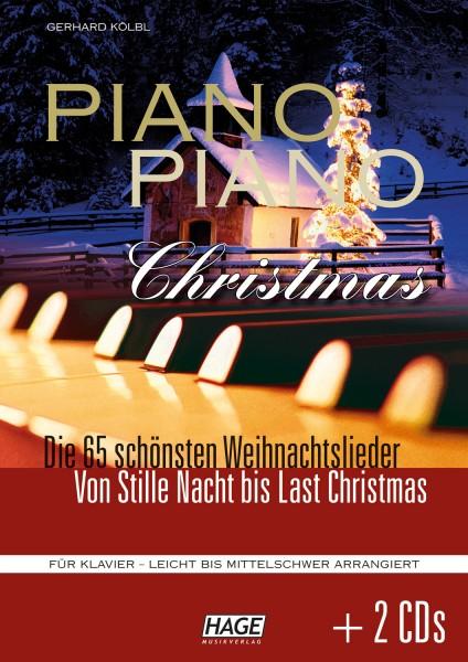Piano Piano Christmas (mit 2 CDs)