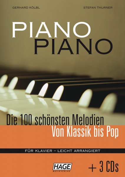 Piano Piano 1 leicht (mit 3 CDs)