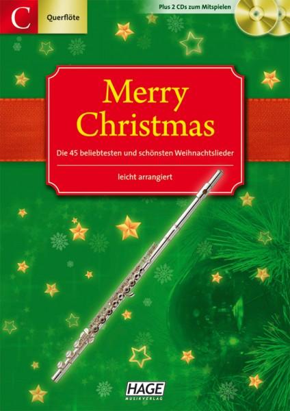 Merry Christmas für C-Instrumente (Querflöte, Oboe)