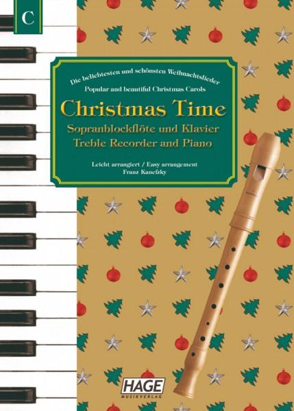 Christmas Time für Blockflöte und Klavier