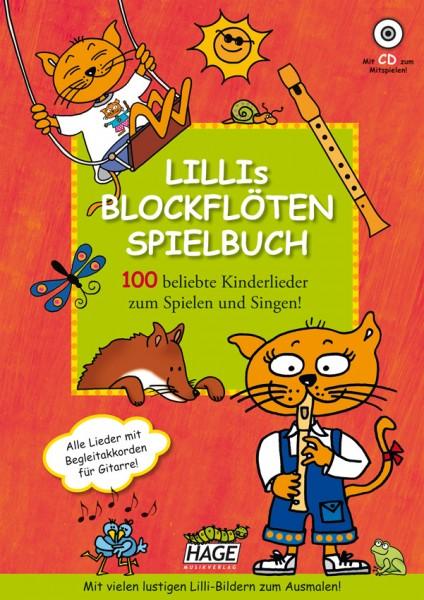 Lillis Blockflöten Spielbuch (mit CD)