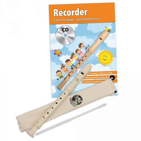 Recorder Set - Baroque Fingering