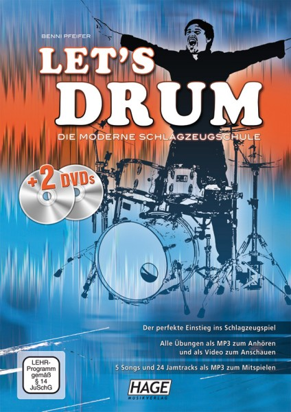 Let's Drum (mit 2 DVDs)