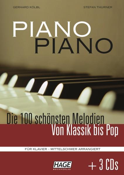 Piano Piano 1 mittelschwer (mit 3 CDs)