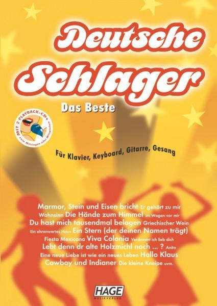 Deutsche Schlager - Das Beste (mit 2 Playback CDs + Midifiles, USB-Stick)