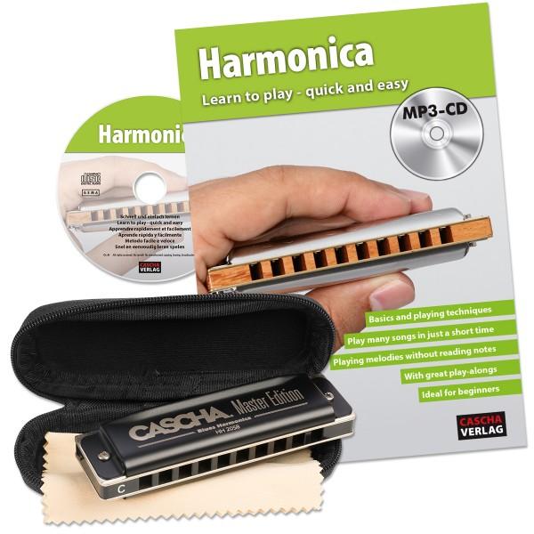 Master Edition Blues Harmonica Set