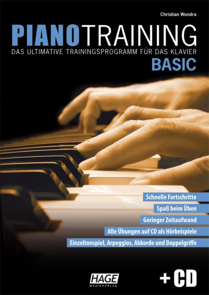 Piano Training Basic (mit CD)
