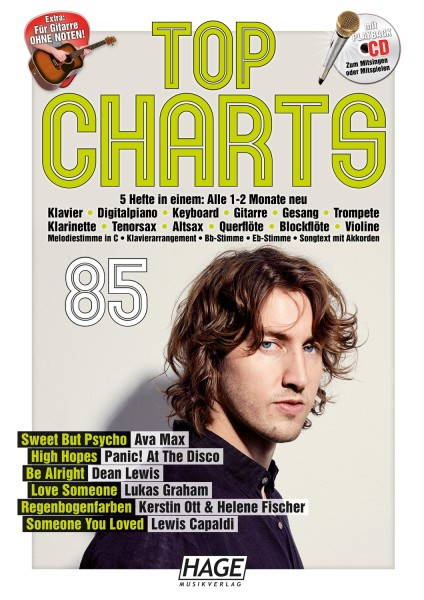 Top Charts 85 (mit CD)