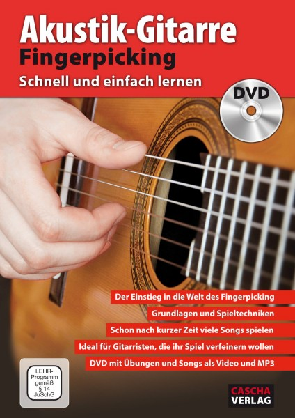 Akustik-Gitarre Fingerpicking - Schnell und einfach lernen