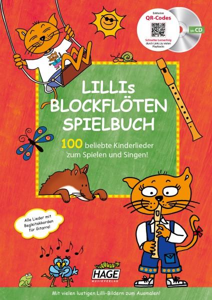 Lillis Blockflöten Spielbuch (mit CD & QR-Codes)