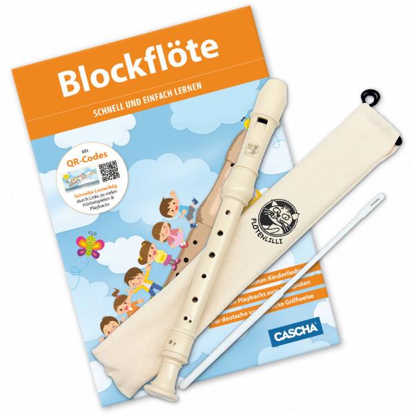 Blockflöten Set - Barocke Griffweise