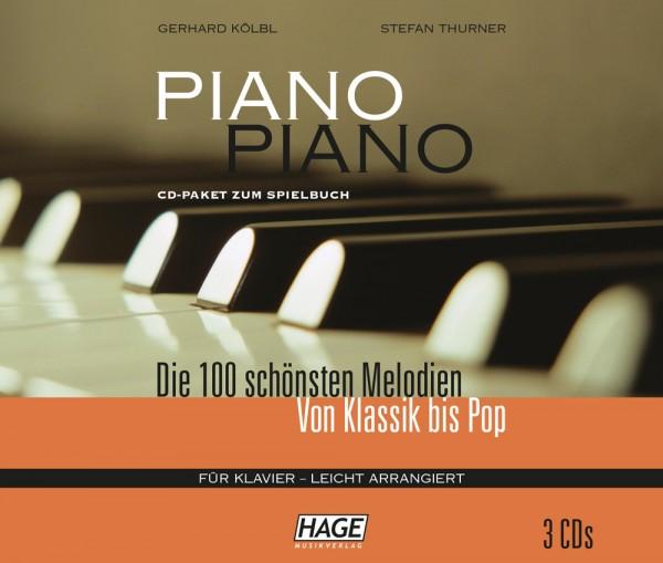 Piano Piano 1 leicht CD-Paket (3 CDs)