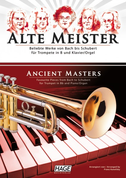 Alte Meister für Trompete in B und Klavier/Orgel