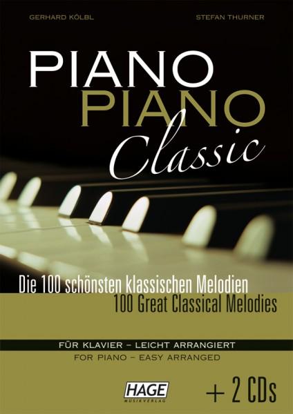 Piano Piano Classic leicht (mit 2 CDs)