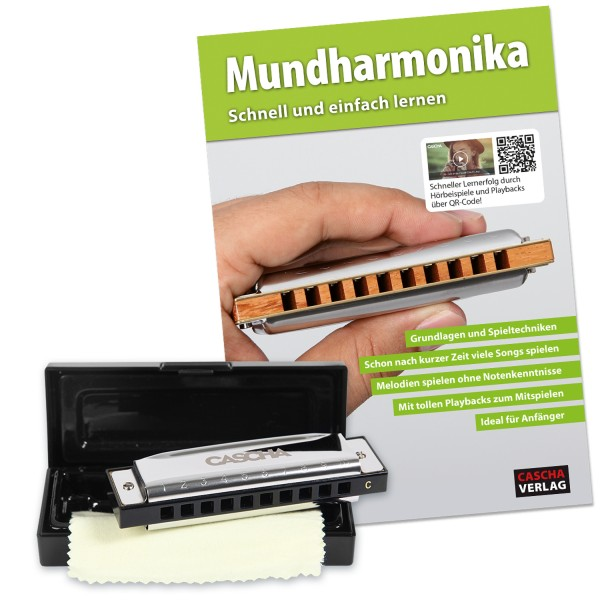 Blues Mundharmonika Set