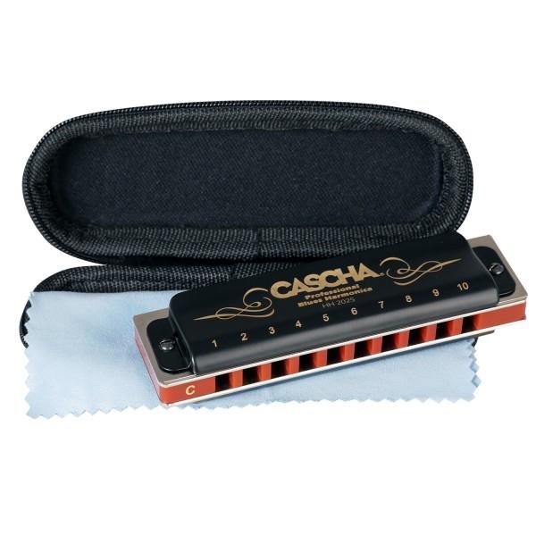 Professional Blues Mundharmonika in C-Dur