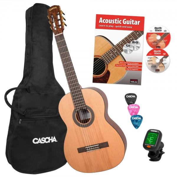 4/4 Classical Guitar Bundle